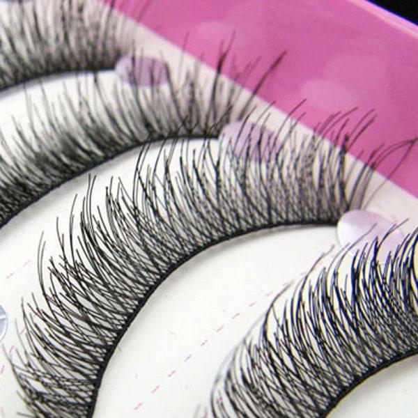 60pair Natural Eyelashs